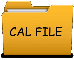 cal-file