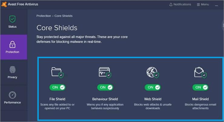 core shields