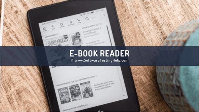 10 Best eBook Readers