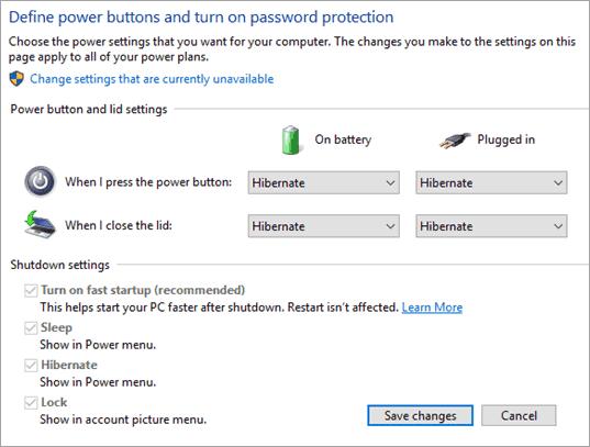 Select Hibernate - Sleep Vs Hibernate In Windows