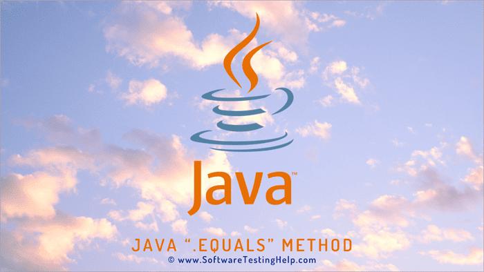 Java .equals method