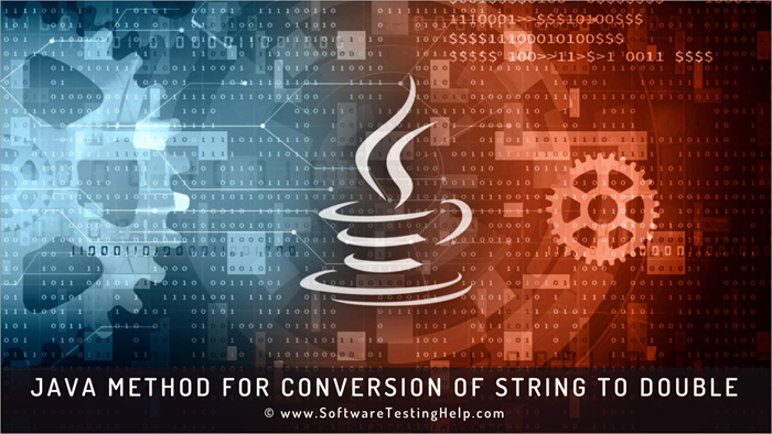Java method for Conversion of String to double