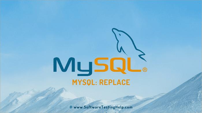 MySQL REPLACE