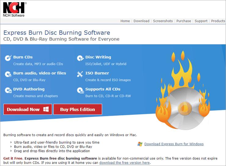 NCH burning
