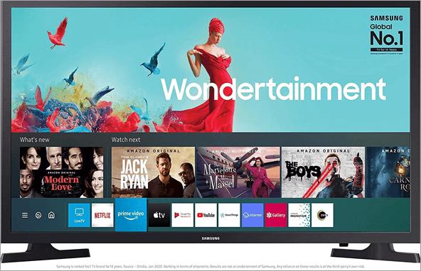 Samsung UA32TE40AAKXXL Wondertainment Series Smart TV