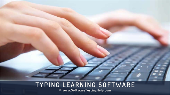Typing Learning Software