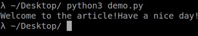 python desktop