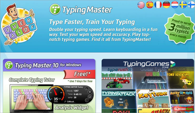 typing mster