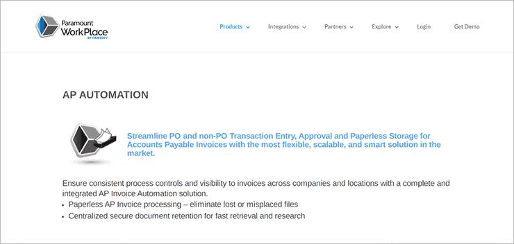 Paramount AP Automation