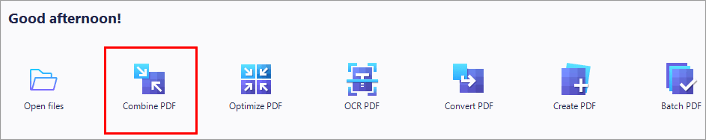 'Combine PDF'' - How To Combine PDF files