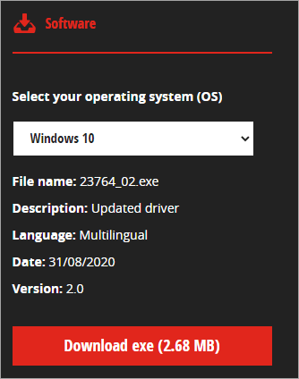 Install the Correct Mouse Drivers