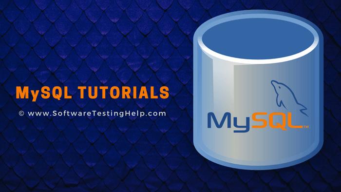 MYSQL Tutorial series