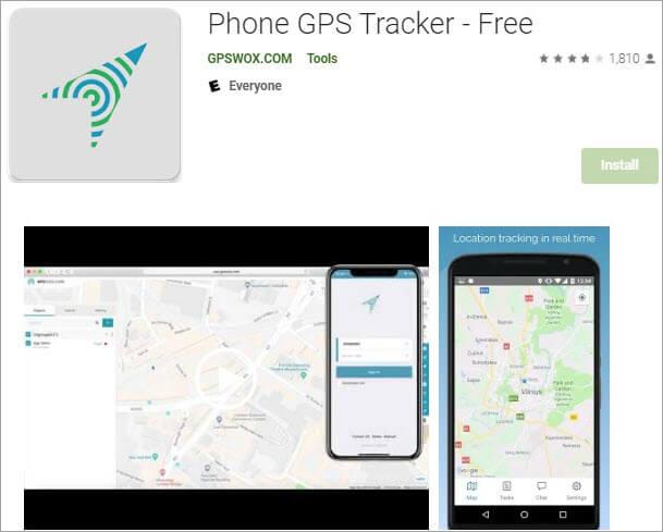 Phone GPS Tracker Free
