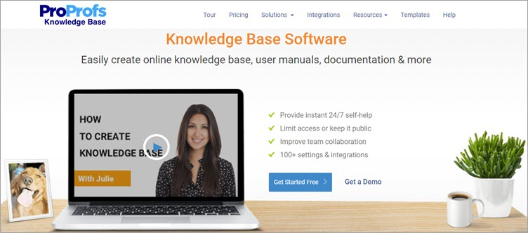 ProProfs Knowledge Base Software