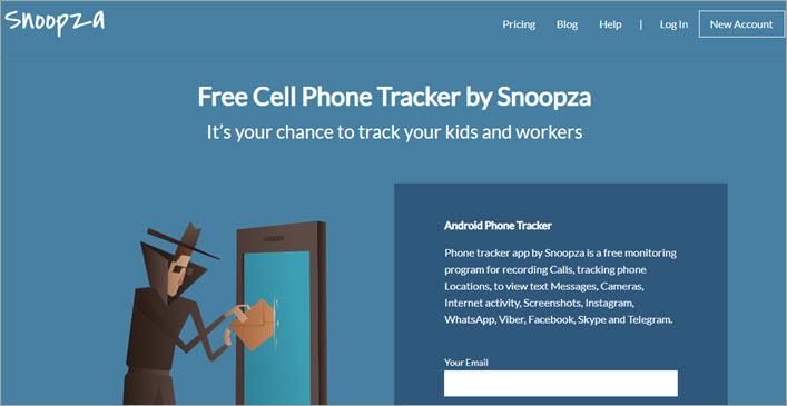 Snoopza 1 - Cell Phone Tracker