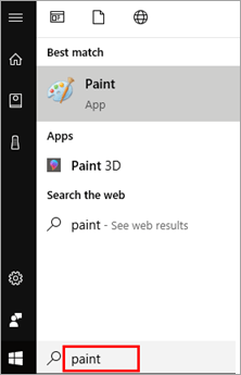 Search for Paint