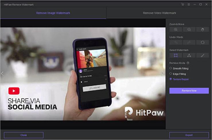 HitPaw Image watermark remover