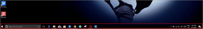 What is Taskbar