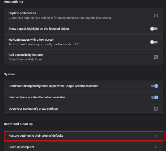 Restore settings to their Original defaults - Taskbar Won't Hide