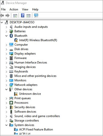 device manger window - VCRUNTIME140 dll Not Found fixed