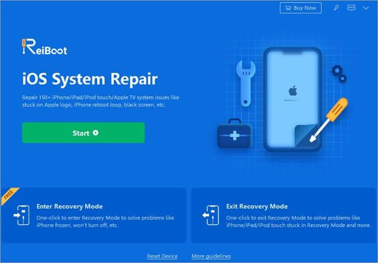 ReiBoot for iOS system repair