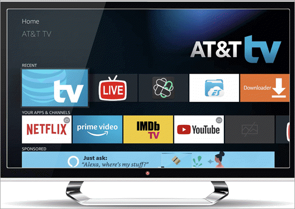 AT&T TV new - best streaming service