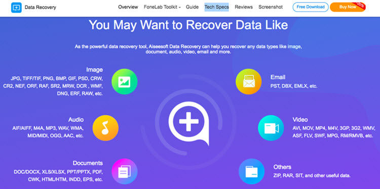 Aiseesoft Data Recovery