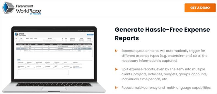 Paramount - Expense Management Software