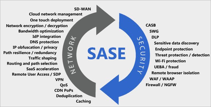 components of the SASE platform