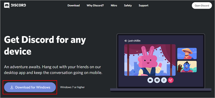 Look for Discord Update