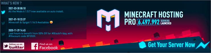 MinecraftHostingPro