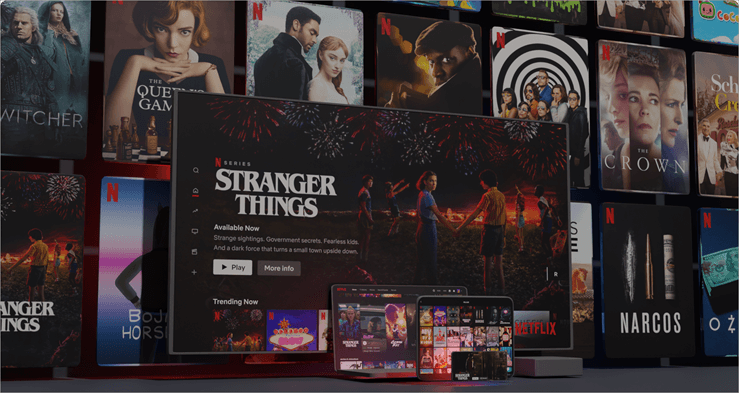 Netflix - best streaming service