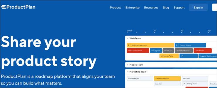 ProductPlan Website