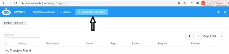 create new migration