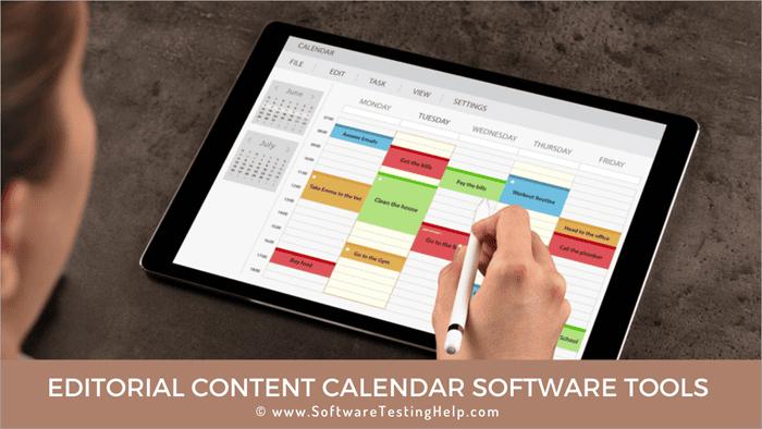 Editorial Content Calendar Software Tools