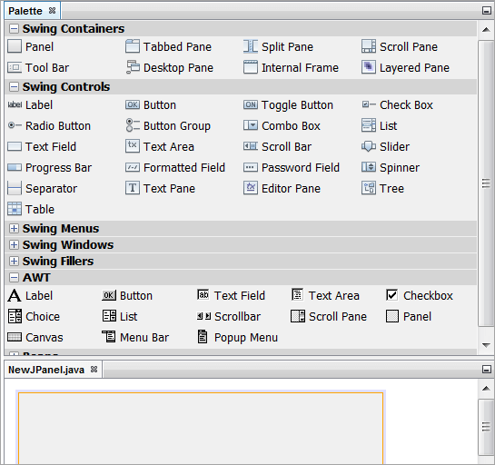 JavaFX feature in NetBeans