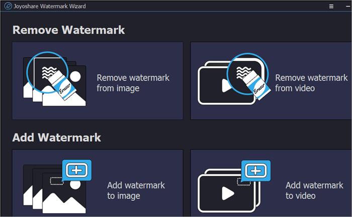 Remove and Add Watermark